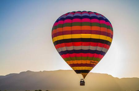 Sunset Hot Air Balloon Ride over Phoenix