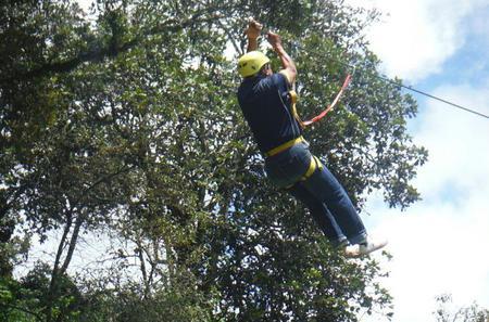 Multi-Adventure at Mammoth Caves Park from Tuxtla Gutierrez: Rappelling, Ziplining and Hiking