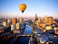 Sunrise Balloon Flight over Melbourne