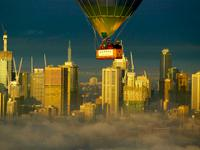 Sunrise Balloon Flight over Melbourne + Yarra Valley Winery Tour