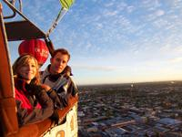Melbourne Private Sunrise Balloon Flight for Two with Champagne Breakfast
