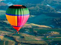 Sunrise Balloon Flight over Yarra Valley + Winery Tour with Hotel Pick-up from Melbourne