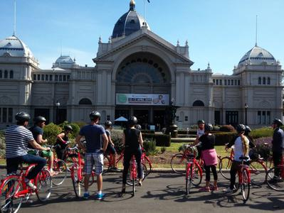 Melbourne City Tour by Bike with Hidden Laneways Visit