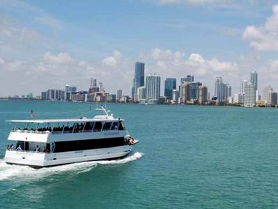 Miami Historic City Tour plus Biscayne Bay Boat Cruise