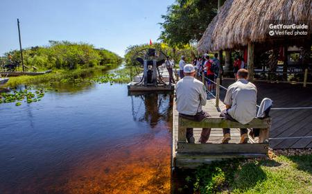 Everglades Airboat Ride + Wildlife Show at Gator Park
