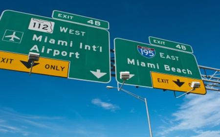 Transfer from the airport Miami in German