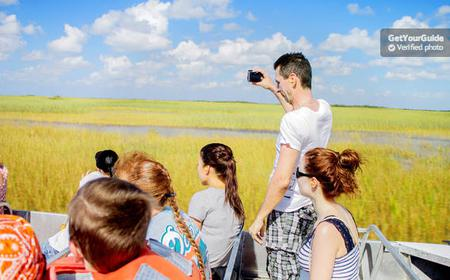 Miami Everglades Park Airboat Tour and Biscayne Bay Cruise