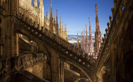 Milan 3-Hour City Walk with Duomo Rooftop and Ossuary