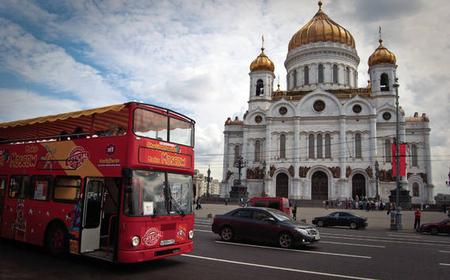 Hop-On Hop-Off 24-Hour Moscow City Tour