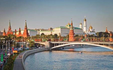 Moscow: Private 4-Hour Walking Tour