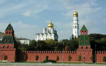 Kremlin Tour with Diamond Fund Museum