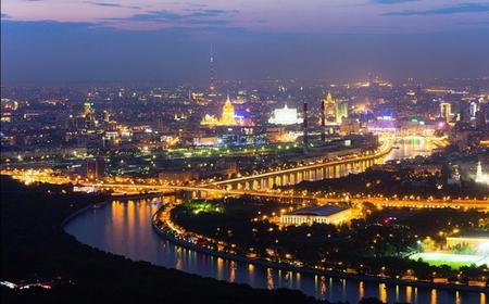 Night Sightseeing Tour: St Basil's Cathedral, Kremlin & More