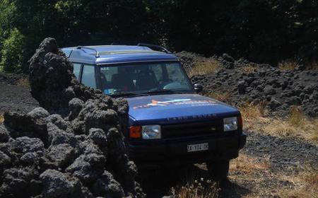 Mount Etna: 5-Hour Jeep Tour with Transfers