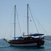 4-Day Cruise of Fethiye to Olympos by Yacht: Turkey