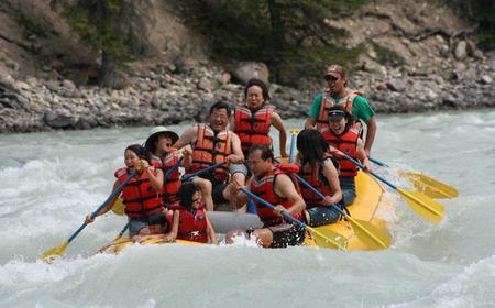 2-Hour Whitewater Rafting in Jasper National Park