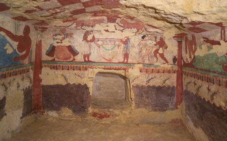 Tarquinia Tombs Full-Day Tour from Civitavecchia Port