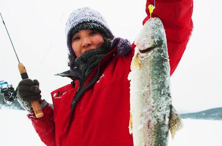 Half-Day Yukon Ice Fishing Tour