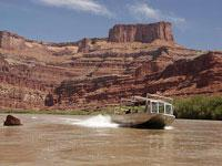 Scenic Colorado Half Day Jet Boat Cruise into Canyonlands National Park