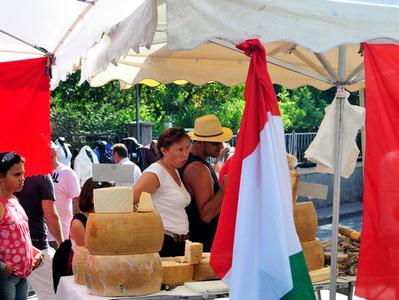 Italian Open Air Market from Monaco