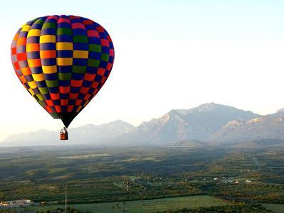 Monterrey Hot Air Balloon Ride with Hotel Pickup