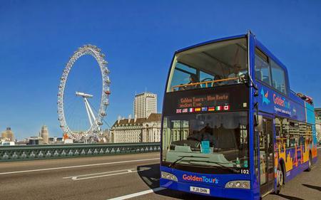 Saver Combo: London Hop-On, Hop-Off Bus & London Eye Ticket