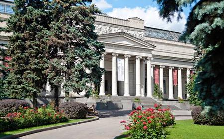Moscow: Pushkin Museum Tickets with Private 3-Hour Tour