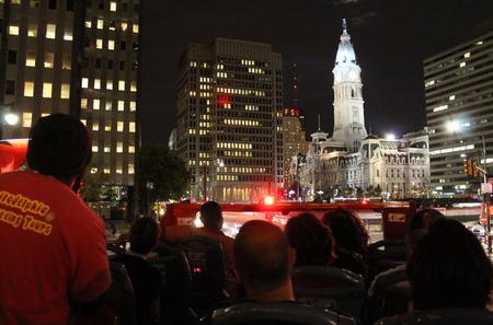Philadelphia Evening Double Decker Bus Tour