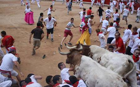 Pamplona Running of the Bulls: 2 or 3 Night Package
