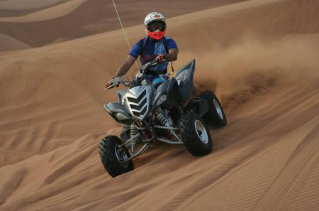 Dubai Evening Desert Safari Including a 15-Minute Quad Bike Ride