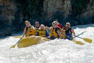 Jasper Rafting Athabasca Canyon Run