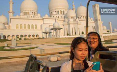 Big Bus Abu Dhabi Hop-On Hop-Off 24 or 48-Hour Tickets