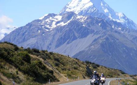 From Christchurch: 11-Day New Zealand Motorcycle Tour