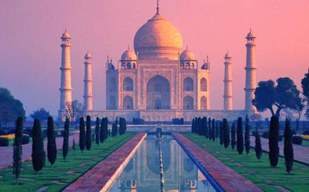 Agra: Full-Day Trip to Taj Mahal and Agra Fort by Car