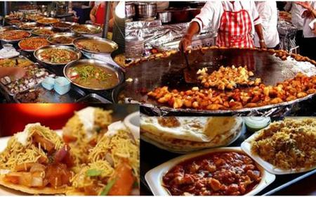 Delhi Evening Food Walk Tour of Old & New Delhi