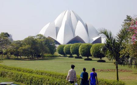 Delhi: Full-Day Temple Tour w/ Lotus Temple