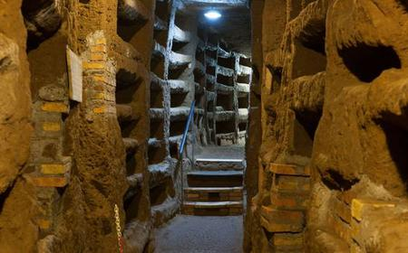 From Rome: 3-Hour Christian Catacombs & Ancient Appian Way