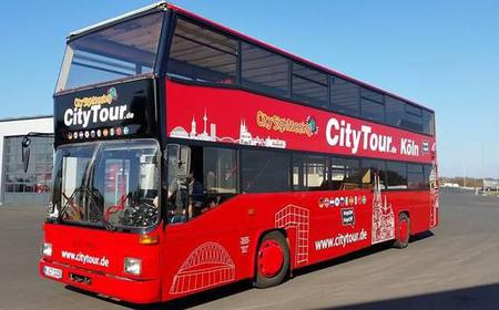 Cologne: 24-Hour Hop-On Hop-Off Sightseeing Bus Ticket