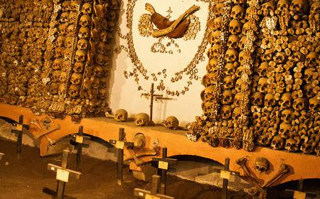 Rome: Exclusive Catacombs After Closing & Bone Chapel Tour