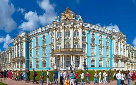 Imperial Residences: Catherine Palace & Peterhoff