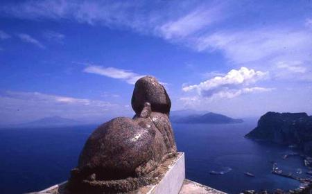 Capri and Anacapri from Sorrento