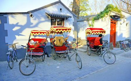 Rickshaw Tour of the Hutongs in Old Beijing