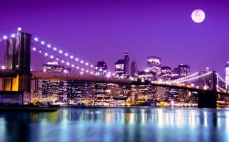 New York by Night: 90-Minute Tour with Live Commentary