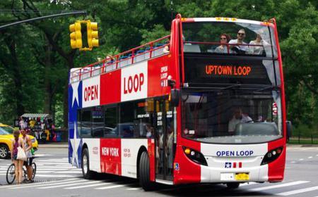 New York City: Uptown Loop Hop-on Hop-off Bus Tour