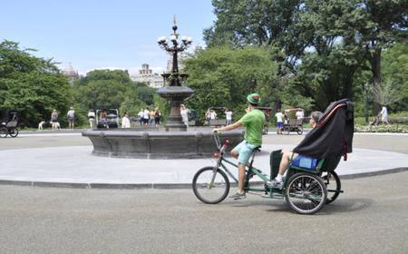 New York City: Central Park Tour by Pedicab