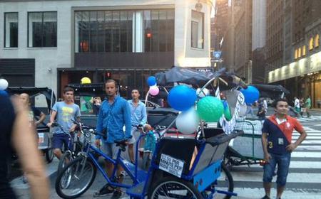 New York: Midtown Pedicab Rickshaw Tour