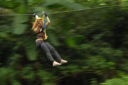 Stand Up Paddle Board or Kayak and Extreme Zipline Adventure from Antigua