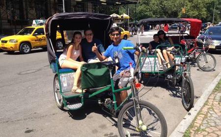 New York: 2-Hour Central Park Pedicab Tours