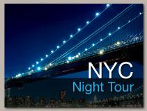 Tour of New York City at Night