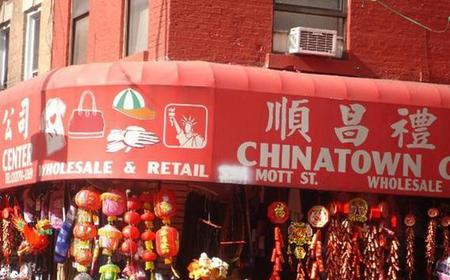 New York Chinatown and Downtown Walking and Food Tour