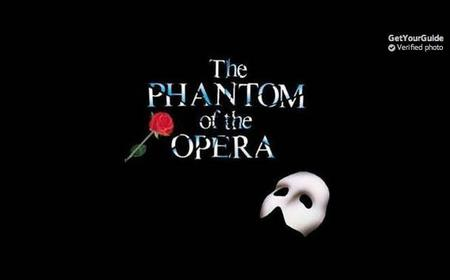 New York Broadway Phantom of the Opera Tickets